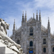 Cathedral in Milan, Italy — Stock Photo