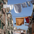 Stock Photo: Laundry in Venice, Italy.
