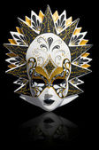 Venetian carnival mask isolated — Stock Photo