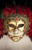 Venetian carnival mask — Stock Photo