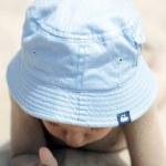 Baby on the beach — Stock Photo #5761925