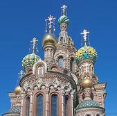 Katedra naszego zbawiciela na krwi — Zdjęcie stockowe