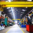 Stock Photo: Metal industy factory indoor