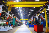 Metal industy factory indoor — Stockfoto