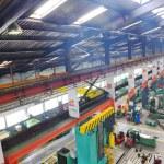 Metal industy factory indoor — Stock Photo #5401935