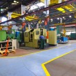 Metal Sanayi fabrika kapalı — Stok fotoğraf