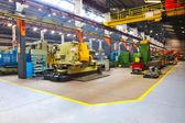 Metall industrie fabrik innen — Stockfoto