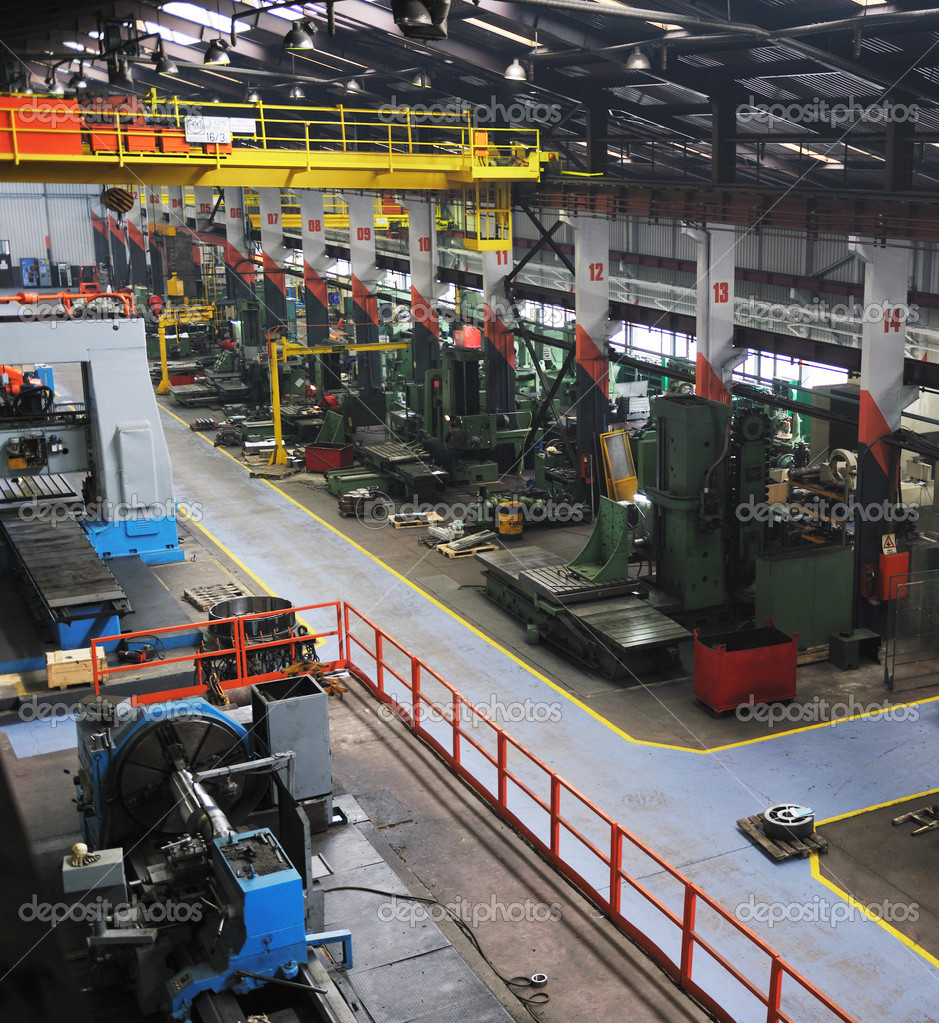 the stock of computers factory buildings and machine tools used to produce goods is known as