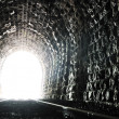 Tunnel end light — Stock Photo #5462448