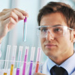 Doctor scientist in labaratory - Stock Photo