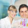 Science in bright lab — Stock Photo