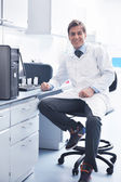 Research and science in labaratory — Stock Photo