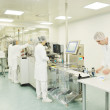 Medical factory and production indoor — Stock Photo