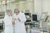 女职工在制药公司 — 图库照片