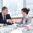 Group of business at meeting — Stock Photo #5688898