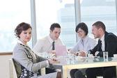 Grupo de negócios da reunião — Fotografia Stock