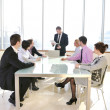 Group of business at meeting — Stock Photo #5710822