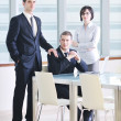 Group of business at meeting — Stockfoto #5710844