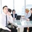 Group of business at meeting — Stock Photo #5710972