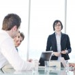 Group of business at meeting — Stock Photo #5710981