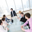 Group of business at meeting — Stock Photo #5710986