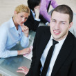 Group of business at meeting — Stock Photo #5710991