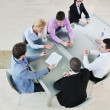 Group of business at meeting — Stock Photo #5711008