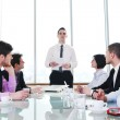 Group of business at meeting — Stock Photo #5711211