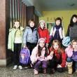Happy children group in school — Stock Photo #5826940