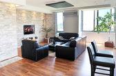 Moderna sala interior — Foto de Stock
