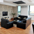 Stock Photo: Modern living room interior