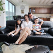 Young family at home — Stock Photo #6020031