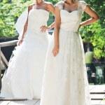 Beautiful bride outdoor — Stock Photo #6137339