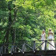 Beautiful bride outdoor — Stock Photo #6137610