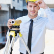 Royalty-Free Stock Photo: Architect on construction site