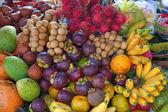 Open air fruit market — Stock Photo