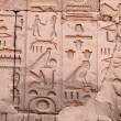 Hieroglyphs on the wall — Stock Photo #6122747