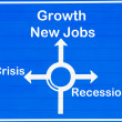 Recession or growth — Stock Photo #6122948