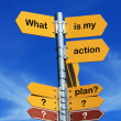 What is my action plan? - Stock fotografie
