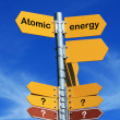 Stock Photo: Atomic energy?