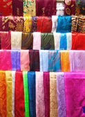 Silk scarfs — Stock Photo