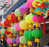 Traditional chinese paper lantern — Stock Photo
