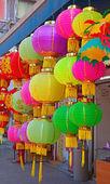 Tradiční čínská papírové lucerny — Stock fotografie