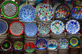 Turkish ceramics — 图库照片