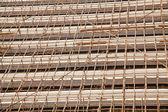 Andaimes de bambu — Foto Stock