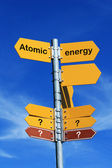 Atomic energy? — Stock Photo
