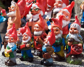 Crowd of dwarfs — Stock Photo