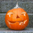 Stock Photo: Jack-o-lantern pumpkin