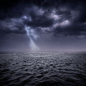 Stormy ocean — Stock Photo