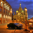 Saint-petersburg orthodoxy temple — Stock Photo